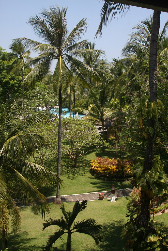 Typical resort grounds, Nusa Dua, Bali