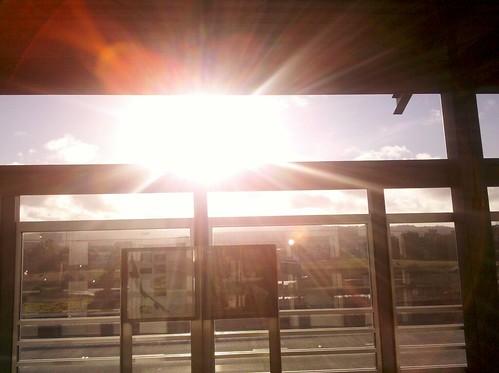San Francisco sun
