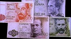 Bank of Spain Pesetas