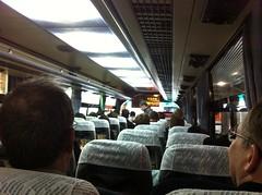 En el limousine bus con más extranjeros