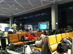 Noche en el Narita Airport