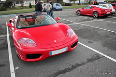 DUO : Ferrari 360 Spider & Modena (Ludovic (SCLUDO.com)) Tags: paris cars car sport spider duo dream 360 f1 ferrari dec exotic spotted modena supercar sportscars exotics supercars combo sighting f360 sportcars exoticscars dreamexoticscars scludo scludocom