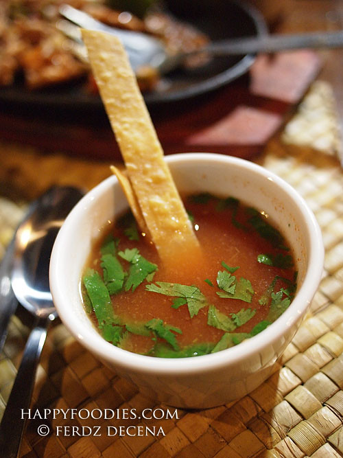 Kapuluan Cilantro Soup