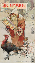 Mes de diciembre (Biblioteca Nacional de Espaa) Tags: stickers illustrations ephemera prints estampas cromos bne bibliotecanacionaldeespaa nationallibraryofspain