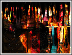 Colour (Midhun Manmadhan) Tags: light color colour warm bags lightandshade