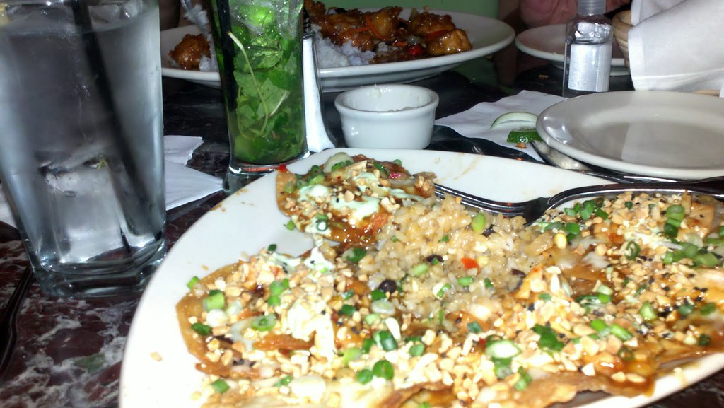 asian nachos