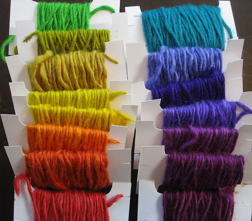 peruvian dyes on alpaca/silk