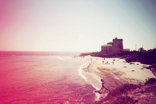 beach de la torre horadada