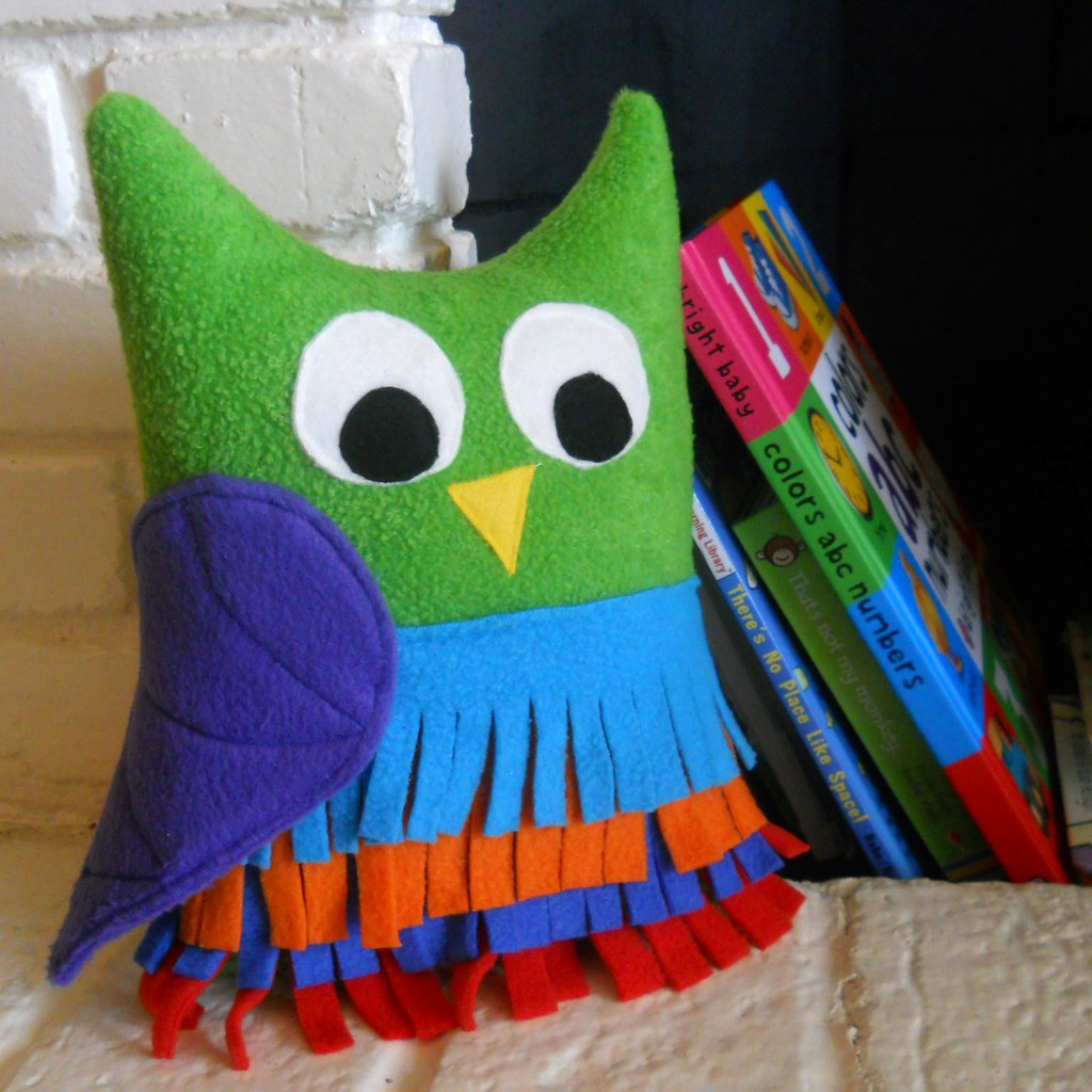 Green Owl Toy