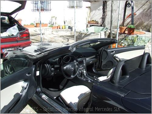 Mercedes SLK detallado interior-15