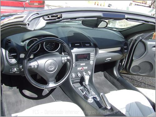 Mercedes SLK detallado interior-17