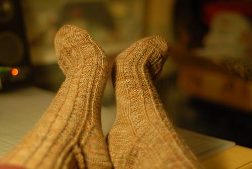 FO: Retro Rib Socks