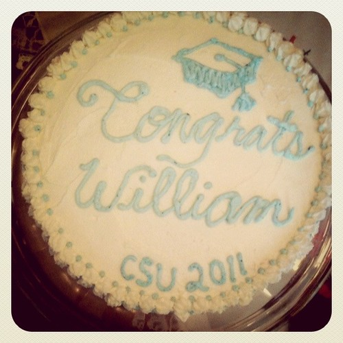 Cake for William