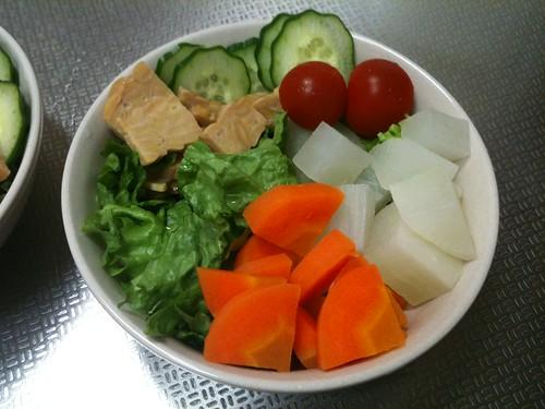 朝食サラダ(2011/3/22)