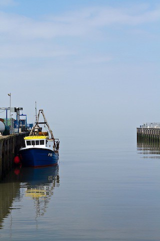 A spring day at Whitstable harbour