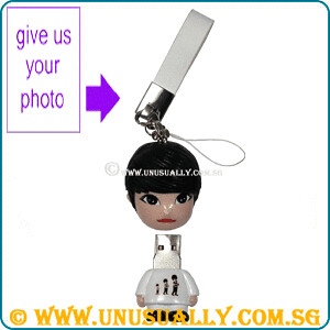 Personalized USB Cartoon Feel Mini Doll