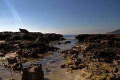 Rocas y mar en la noche (ibzsierra) Tags: sea costa rock night canon noche coast mar salinas ibiza 7d nocturna eivissa rocas baleares