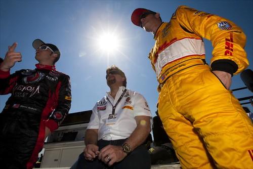 Marco Andretti, Michael Andretti, Ryan Hunter-Reay