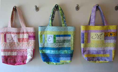 Quilted Bags - Front