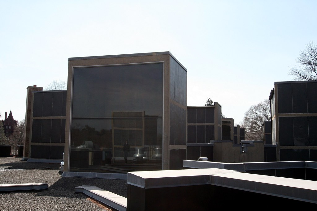 Rooftop City (sleepockets) Tags: Light Architecture Concrete Louis Hall  Pennsylvania Kahn Bryn Mawr