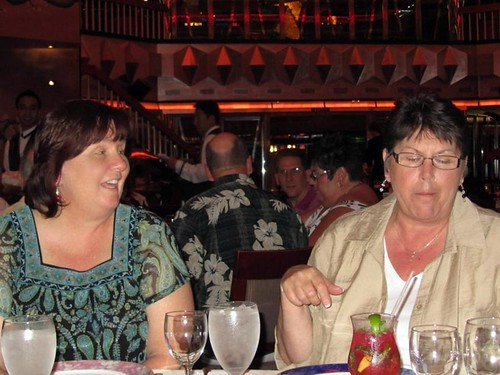Myself & Barb at Dinner