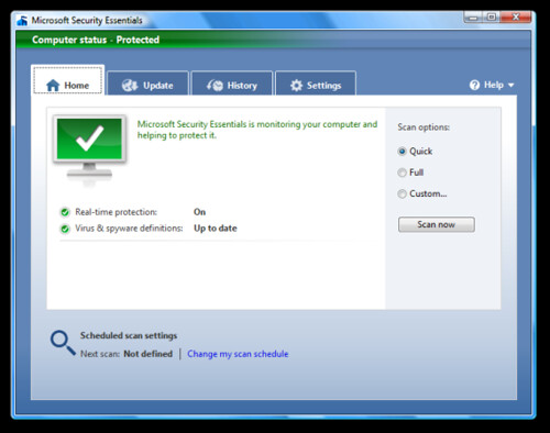 Microsoft Security Essentials: Antivirus Gratuito de Microsoft