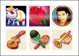 free La Fiesta slot game symbols