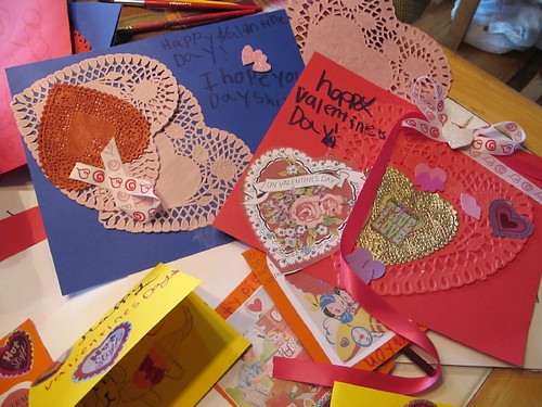Valentines made for assisted living visit #4