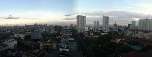Manila, from my rooftop