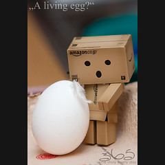 A living egg? (Oliver Totzke) Tags: 2 canon easter mark egg days sp ii 1d 365 tamron 70200 70200mm danbo mark2 revoltech danboard