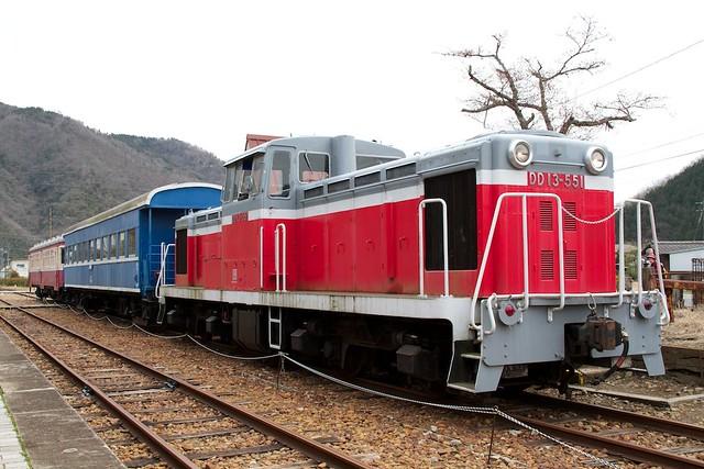 片上鉄道DD13
