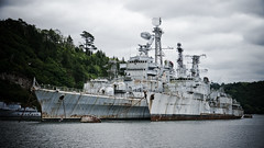 Landévennec Colbert (Philippe sergent) Tags: lumix marine bretagne bateau colbert navire gh2 landévennec aulne c611