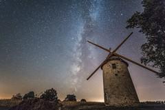 moulin baron (Sainte Ccile) (stefg1971) Tags: milky way voie lacte nightscape irix a7rii a7r2 mak nuit astro vende moulin bois baron