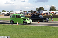 1954 Ford Popular & Taz Racing 1963 Ford 105e Anglia (cerbera15) Tags: sywell classic pistons props 2016 ford popular hotrod hot rod taz racing 105e anglia