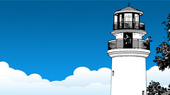 Over Cloud tower (one8888) Tags: sketch lighthouse tower