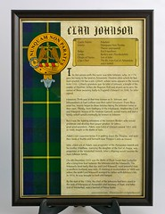 Johnstone History Print