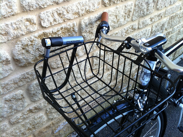 Front Rack with D Lock holder