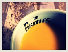Morning Coffee with The Beatles (jL Fotography) Tags: coffee beatles 365 mostly365 iphoneography