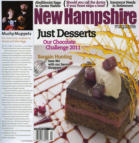 Mushy Muppets: New Hampshire Magazine, Feb 2011