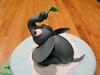Baby Jungle Cake for Tiffany 11 (MamaWaCakes) Tags: blue elephant green monkey chocolate lion vanilla giraffe babyshower fondant gumpaste babyanimals jungletheme customcake safaritheme stackedcake sugarfigurines sugarmodel