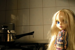 blythe in the kitchen