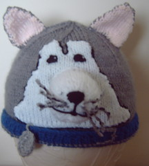 Husky (Impression-Knits) Tags: dog dogs knitting husky hats knitted