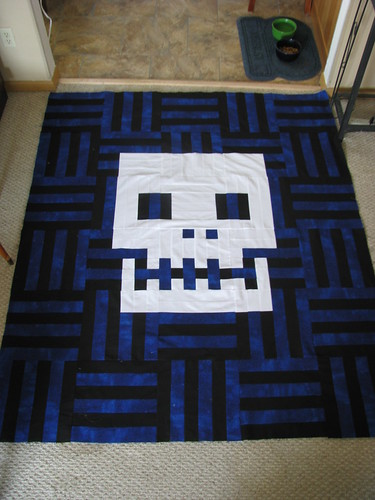 Basket Case Quilt Top