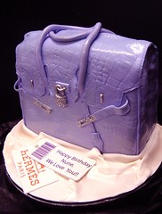 diamonte  Birkin bag cake (debbiedoescakes) Tags: sanfrancisco cake bag oakland diamond purse bayarea hermes birkin debbiedoescakes sculptedcakes debbiegoard