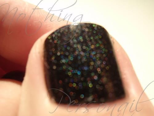 Color Club Black & China Glaze Wireless Holographic TC