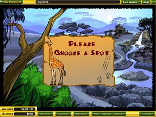 free Safari Hunt slot bonus game
