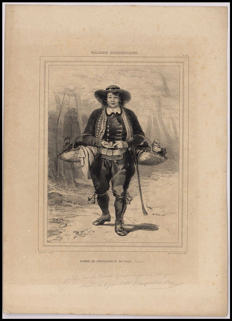 Homme de Châteauneuf-du-Faou (Finistère). géographie [Autres lieux hors département] Châteauneuf-du-Faou Finistère