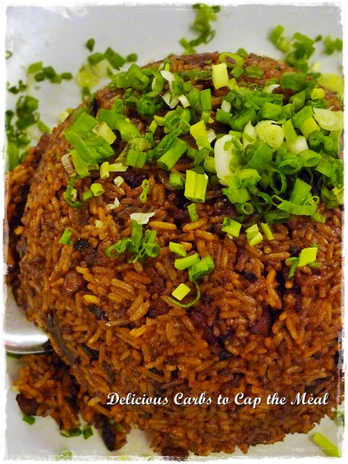Glutinous Rice with Mushrooms and Pork