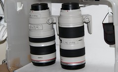 Canon 70-200mm 2.8L & 100-400mm L (Photos by John Torcasio) Tags: canon lens usm 70200 100400