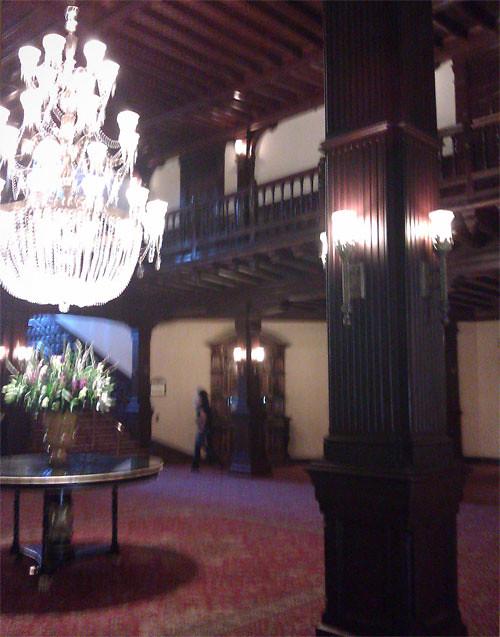 Lobby of the Hotel Del Coronado